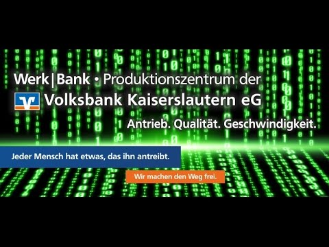 Making of Werk|Bank - Produktionszentrum der Volksbank Kaiserslautern eG - Final
