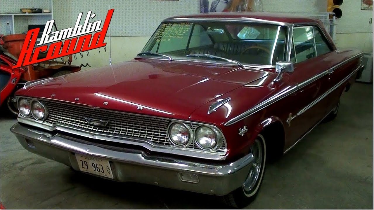 1963 5 ford galaxie 500 xl 390 v8 at country classic cars youtube. Black Bedroom Furniture Sets. Home Design Ideas