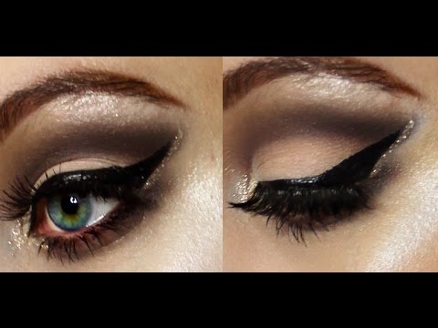 Glitter Edge Soft Cut Crease Makeup Tutorial | Liv H