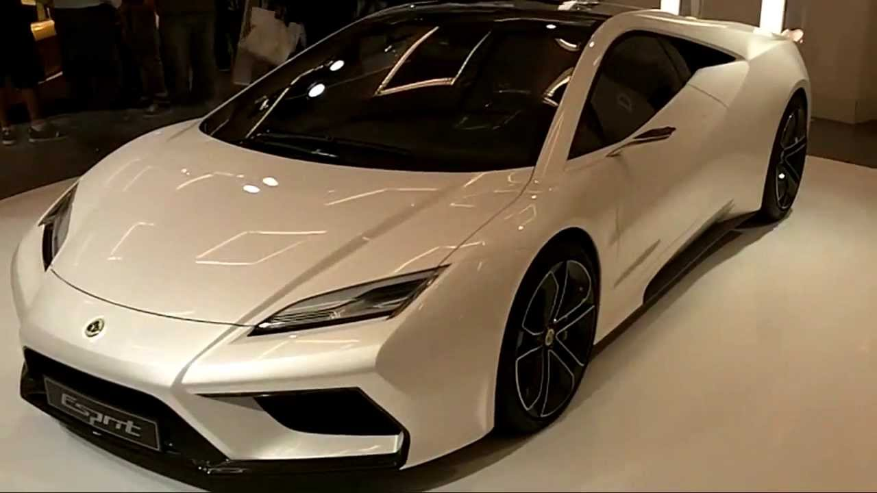 ™lotus esprit a concept car with meaning - youtube