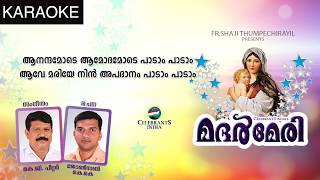 SWARGEEYA LILLY POOVE Karaoke | Mother Mary | Latest Malayalam Devotional Song