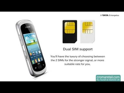 Samsung Galaxy Music Duos S6012 GSM Mobile Phone