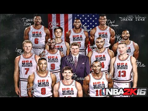 NBA 2K16 All Time Teams: THE DREAM TEAM!