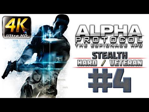 Alpha Protocol Walkthrough 4k PC HARD / VETERAN - Part 4 - Saudi Arabia Investigate Jizan Weapon