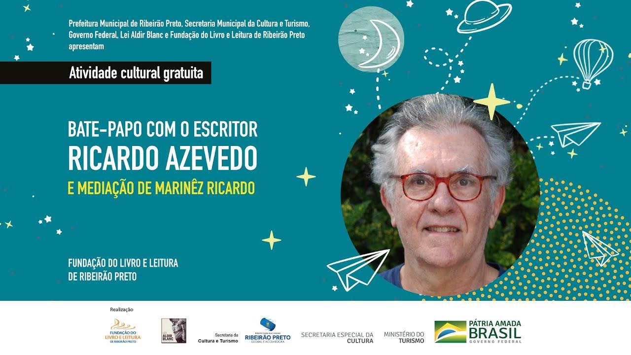 """""""Eu pegava livros que a escola indicava e lia para aprender a me expressar"""", disse Ricardo Azevedo"""