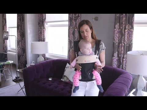 Mom Review and Demonstration: Ergo Baby 360 Carrier