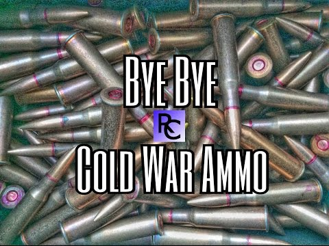 BYE BYE Cold War Ammo