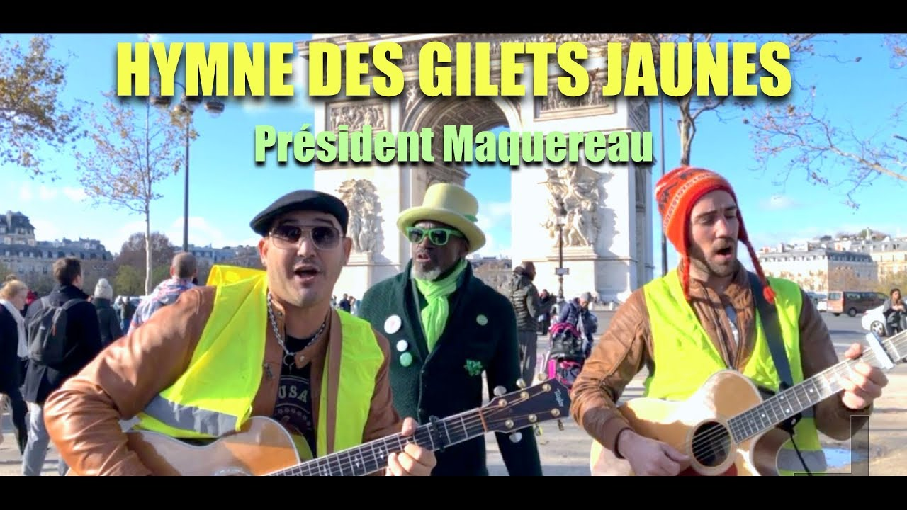 la chanson des gilets jaunes pr sident maquereau clip officiel youtube. Black Bedroom Furniture Sets. Home Design Ideas