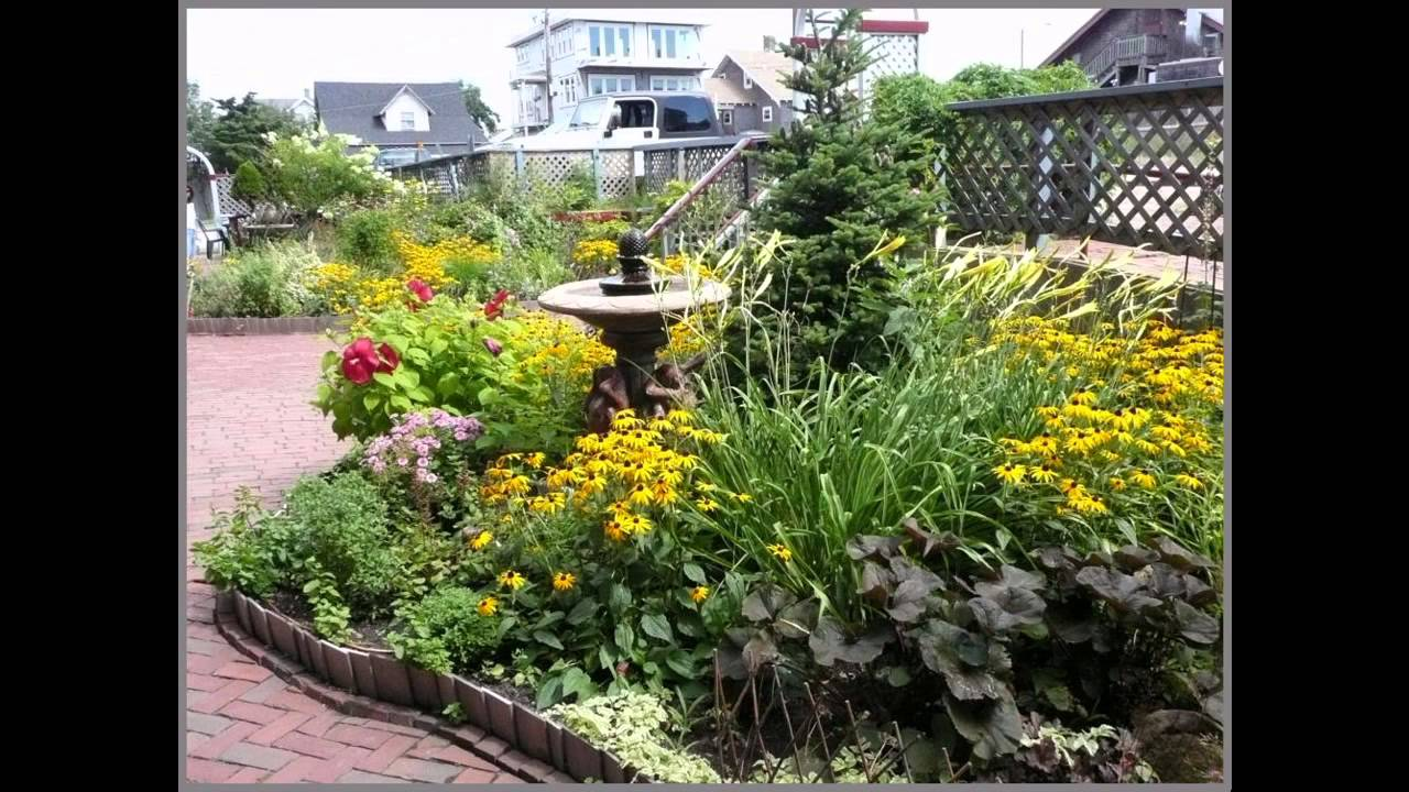 Small perennial garden ideas youtube - Small backyard landscape designs ...