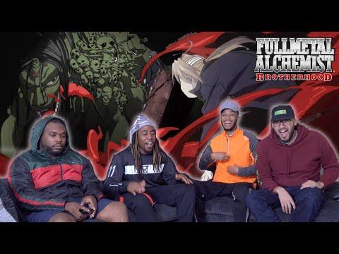 """Full Metal Alchemist Brotherhood Episode 25 """"Door Way Of Darkness"""" REACTION/REVIEW"""