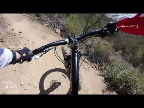 Distortion trail - mountain biking - Murrieta, CA