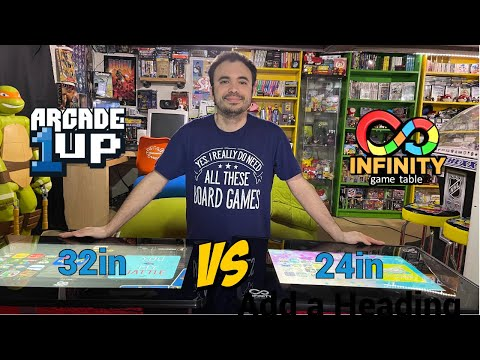 Infinity Game Table by Arcade1Up 24in Versus 32in Comparison - Didn't Expect This Big Difference! from UrGamingTechie