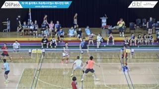 (조이민턴) 권우진/박상수 vs (팀 더블에스& SJ ACADEMY) 김지훈/전성재남복 30 준자강 …