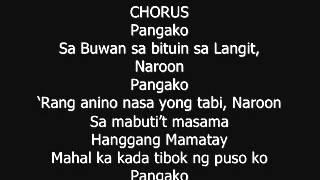 I Swear Tagalog Version
