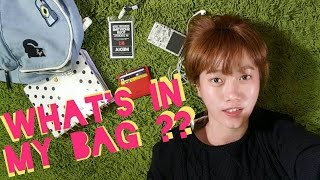 whats in my bag india