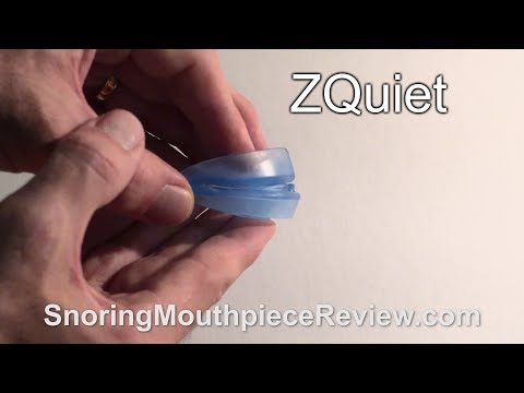 ZQuiet - Snoring Mouthpiece Review + Actual Results (4K)
