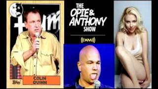 Opie & Anthony - Colin Quinn, Bob Kelly in studio