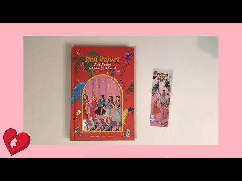 🍰Red Velvet 레드벨벳 First Concert Red Room Photobook Unboxing | sugabey