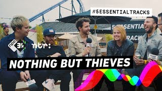 Nothing But Thieves quibble about favorite music: Jeff Buckley & Michael Jackson to AC/DC & Nirvana