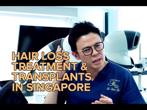 FUE Hair Transplant & Hair Loss Treament In Singapore By Freia Medical