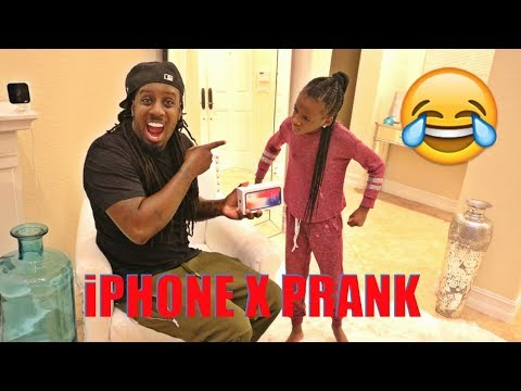 SURPRISING MY DAUGHTER WITH THE iPHONE X FOR HER BIRTHDAY PRANK