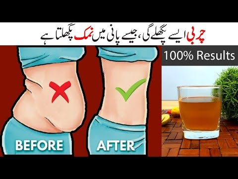 Weight Loss Secret Drink – Fast Belly Fat Cutter Urdu Hindi