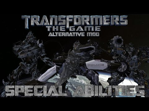 Transformers: The Game Alternative Mod Playable Special Abilities