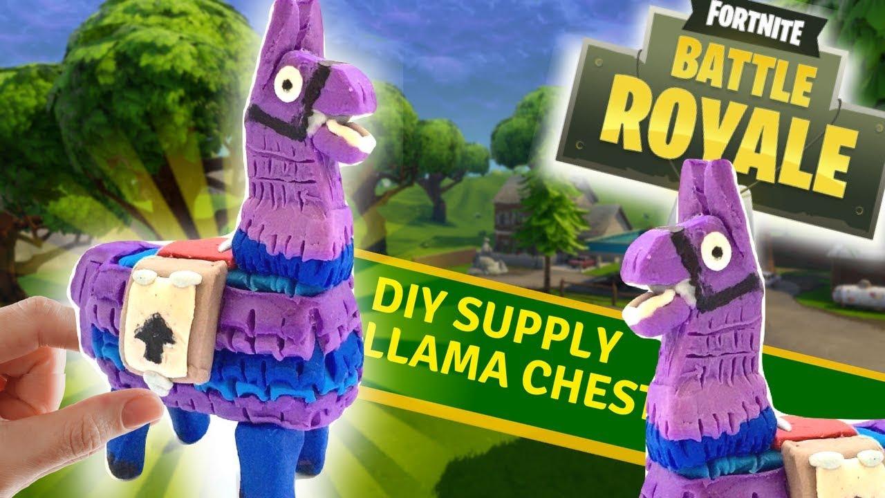 Diy Supply Llama From Fortnite Clay Tutorial