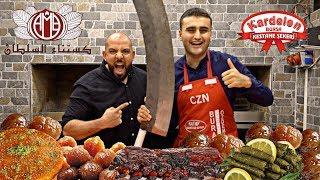 تحدي ٢٠٠ حبة كستناء + اتحديت شيف بوراك ???? Sugar Chestnut 200 Piece Challeng + Chef Burak Özdemir
