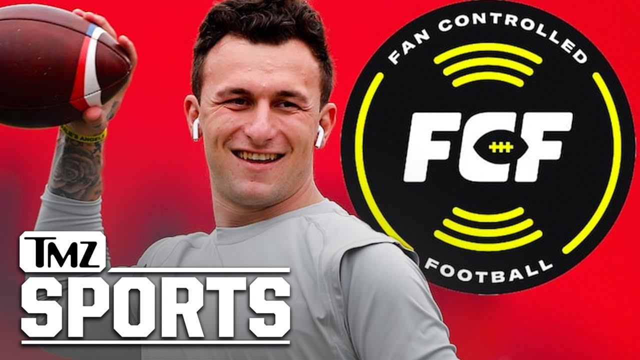 Why is Johnny Manziel in Fan Controlled Football league?