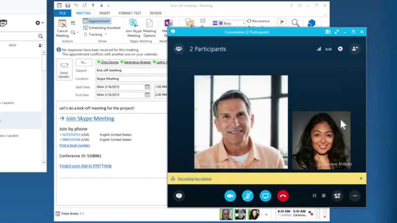 Introducing Skype For Business 2015 Youtube
