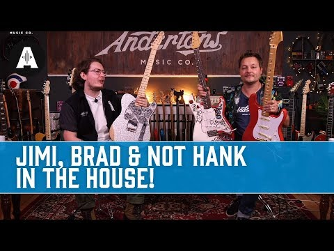 Jimi, Brad & Not Hank (But Almost Hank) In The House - Latest News from Fender