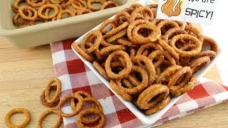 Hot Pretzels - Spicy Ranch Party Snack - RadaCutlery.com