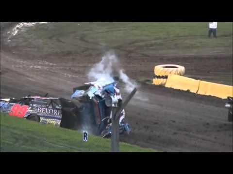Dirt Track Crash Compilation 5