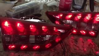 Infiniti fx35 fx37 fx50 qx70 custom taillights