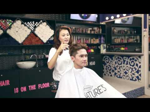 Tạo kiểu tóc theo phong cách David Beckham