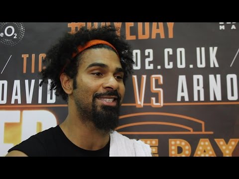 David Haye says he will knockout Shannon Briggs inside 5 rounds