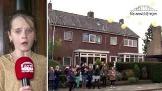 Amira Willighagen winnares Holland's Got Talent viert haar feestje en zingt live