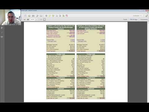 FHA 30 Year vs Conv 30 Year Fix