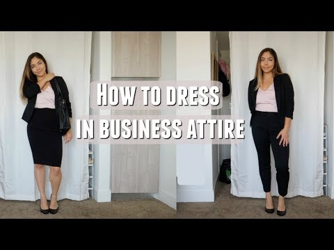 How To Dress In Business Clothes & Still Look Cute!