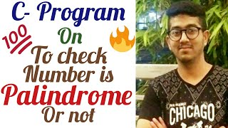 How to check the given number is palindrome or not in c- language