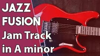 Am JAZZ FUSION BACKING TRACK