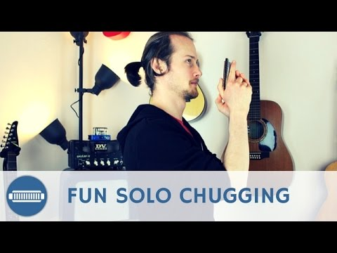 Fun Solo Chugging Licks on an A Harmonica