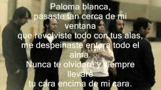 La Oreja De Van Gogh Paloma Blanca (Calidad CD y con letra)