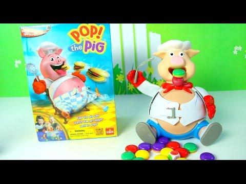 Divertido Juego Explota el Cerdito Pop the Pig Game Mundo de Juguetes