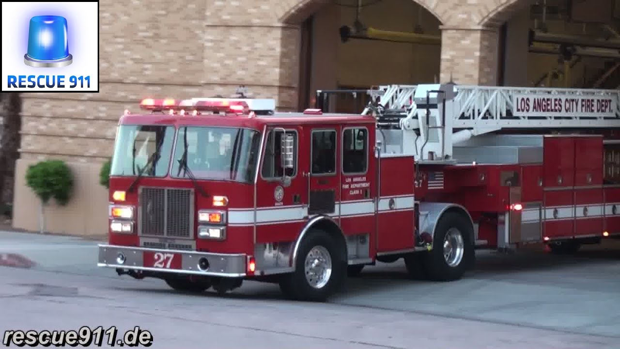 Mayor Garcetti Unveils Los Angeles Fire Department Innovations to ...
