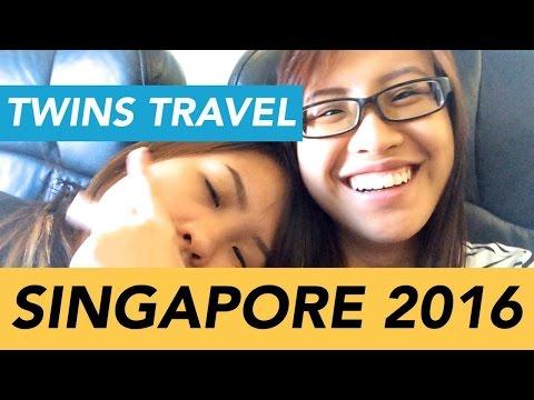Vlog 11: TWINS TRAVEL - SINGAPORE 2016