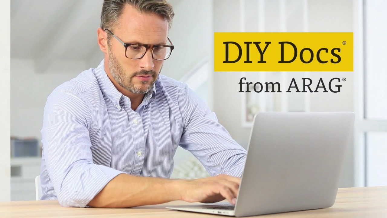 DIY Docs From ARAG YouTube - Law docs