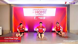 Group Fitness at Home :  Core Flow Yoga  3/6/2020