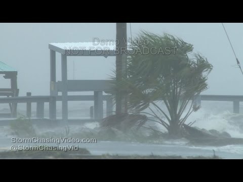 Hurricane Hermine, Horseshoe Beach, FL - 9/1/2016